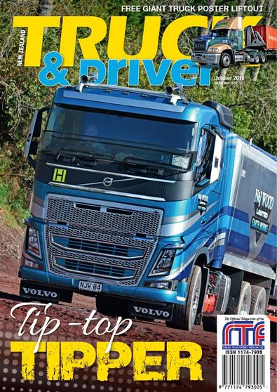 NZ Truck & Driver magazine cover
