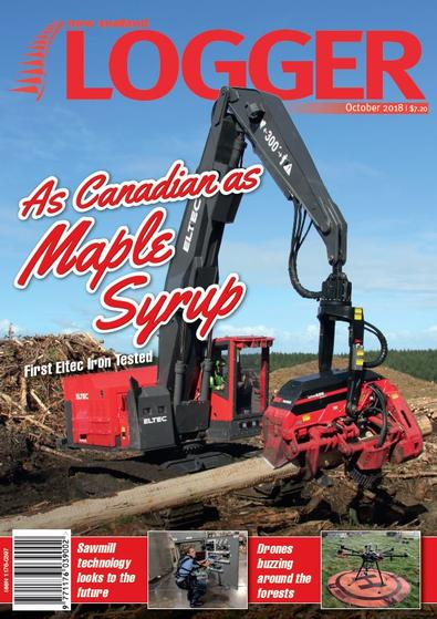 NZ Logger magazine cover