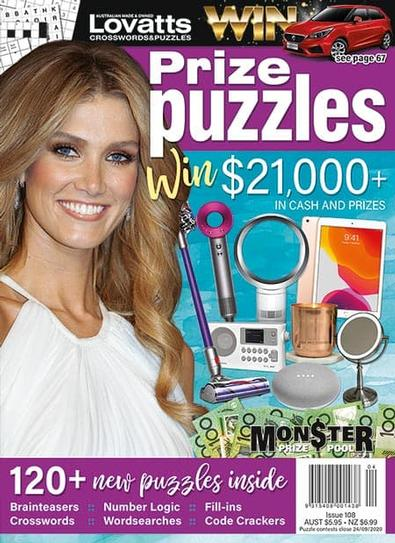 Lovatts Prize Puzzles magazine cover