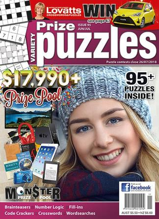Lovatts Variety Prize Puzzles magazine cover