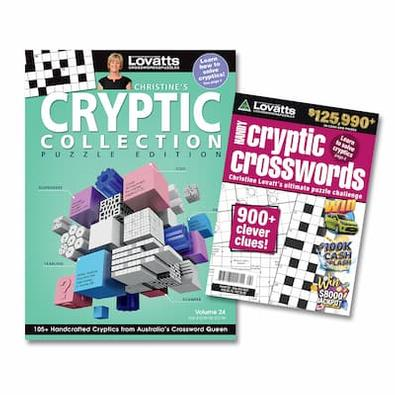 Lovatts Cryptic Bundle magazine cover
