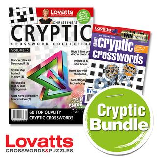 Lovatts Cryptic Bundle magazine cover