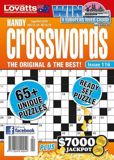 Lovatts Handy Crosswords magazine cover