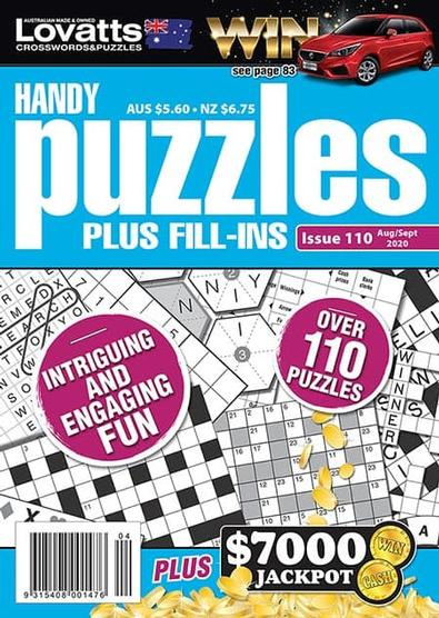 Lovatts Handy Puzzles magazine cover