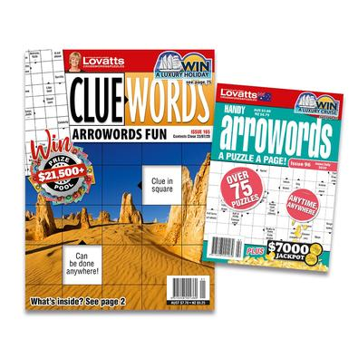 Lovatts Arrowords Bundle magazine cover