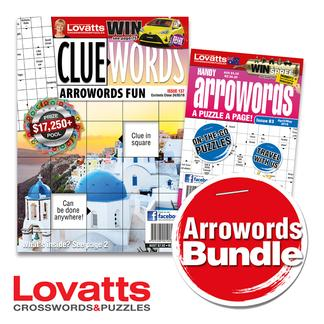 Lovatts Arrowords Bundle magazine cover