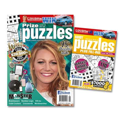 Lovatts Puzzles Bundle magazine cover