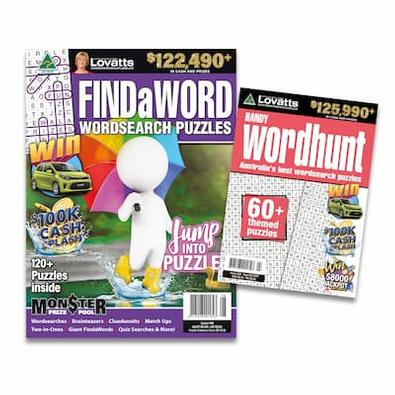 Lovatts Wordsearch Bundle magazine cover