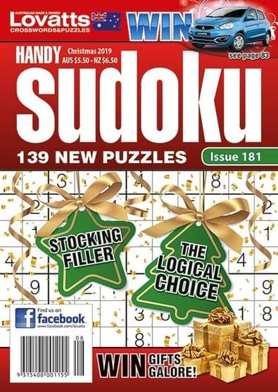 Lovatts Handy Sudoku magazine cover