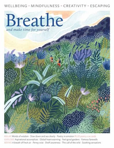 Breathe Magazine Australia cover
