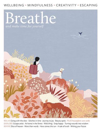 Breathe Magazine Australia cover