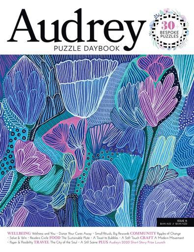Audrey Daybook Australia magazine cover