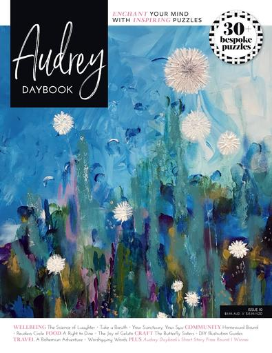 Audrey Daybook Australia magazine cover