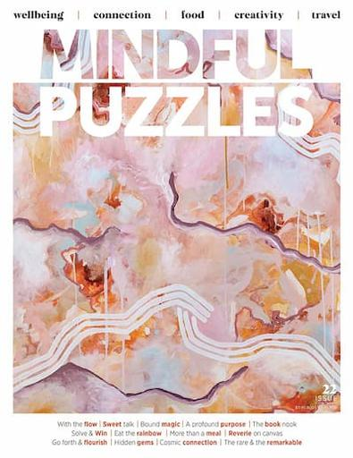 Mindful Puzzles magazine cover