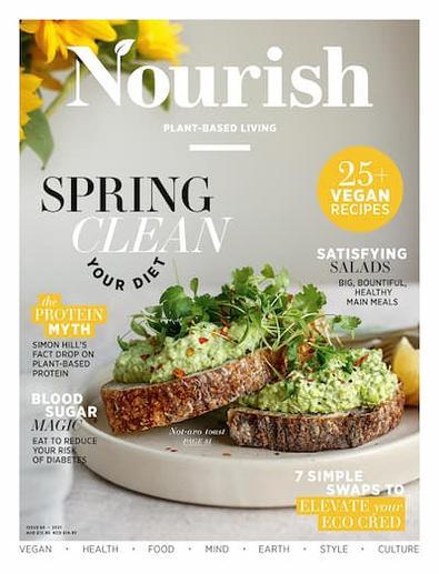 Nourish magazine cover
