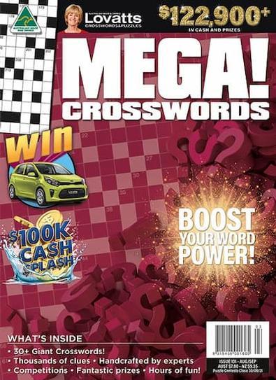 Lovatts MEGA! Crosswords magazine cover