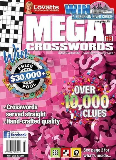 Lovatts Mega magazine cover