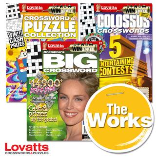 Lovatts THE WORKS magazine cover