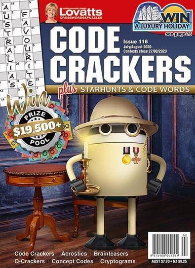 Lovatts Code Crackers magazine cover