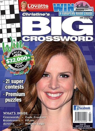 Christine's BIG Crossword magazine cover