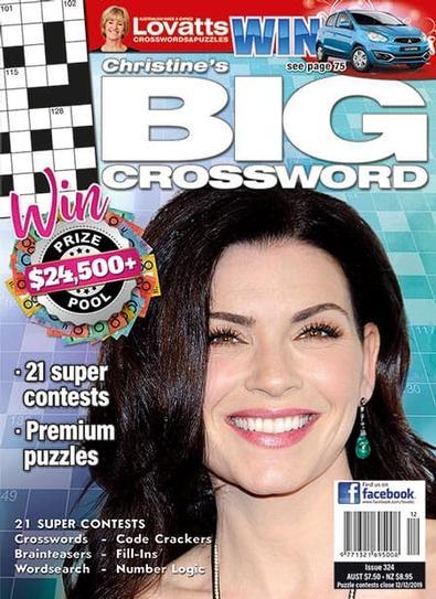 Christine's BIG Crossword magazine cover
