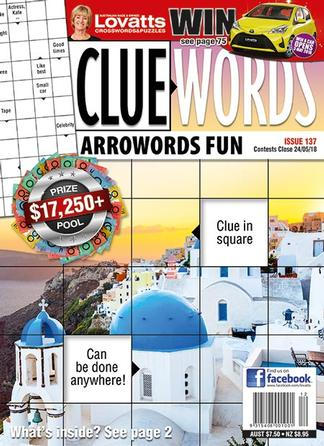Lovatts Cluewords magazine cover