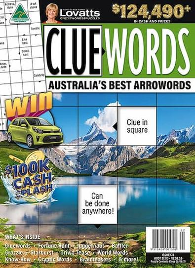 Lovatts Cluewords magazine cover