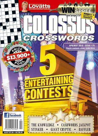 Lovatts Colossus Crosswords magazine cover