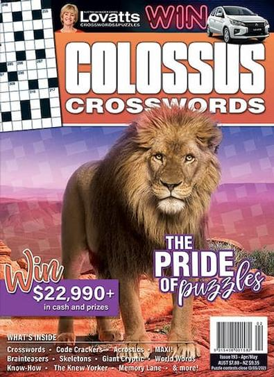 Lovatts Colossus Crosswords magazine cover