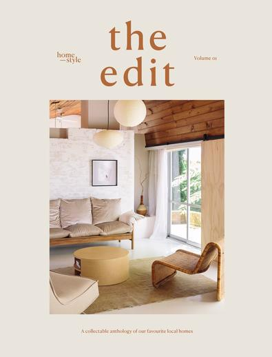 the edit by Homestyle magazine cover