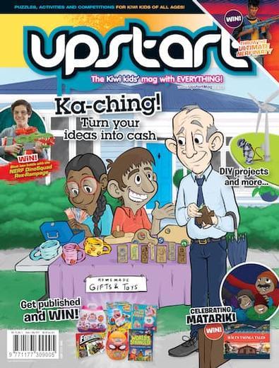 Upstart magazine cover
