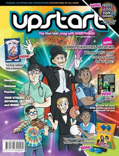 Upstart magazine cover