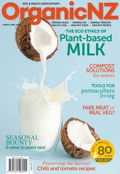 Organic NZ magazine cover