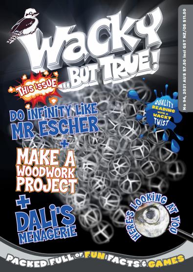 Wacky ... but true magazine cover
