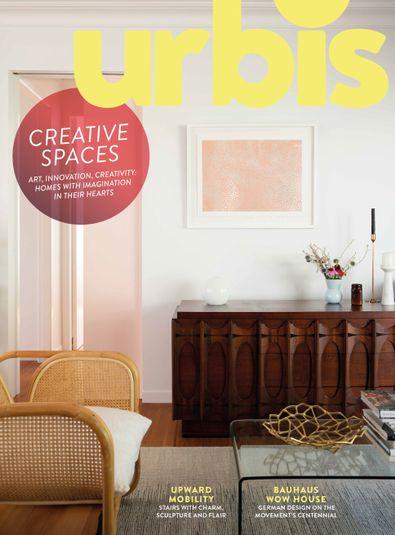 Urbis magazine cover