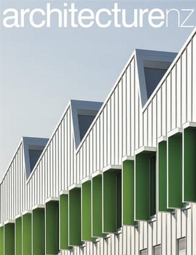 Architecture NZ magazine cover
