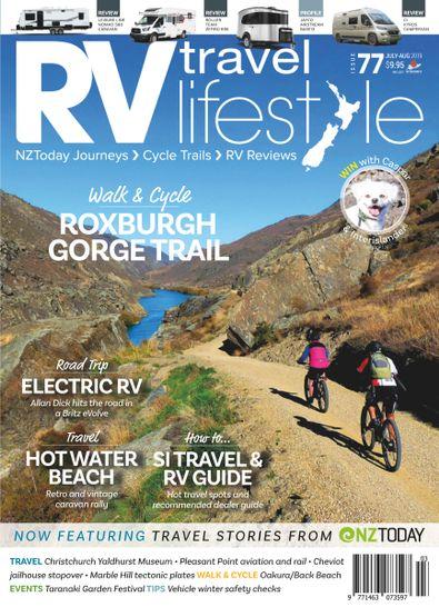 RV Travel Lifestyle magazine cover