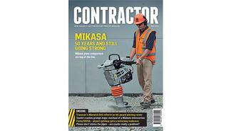 Contractor magazine cover