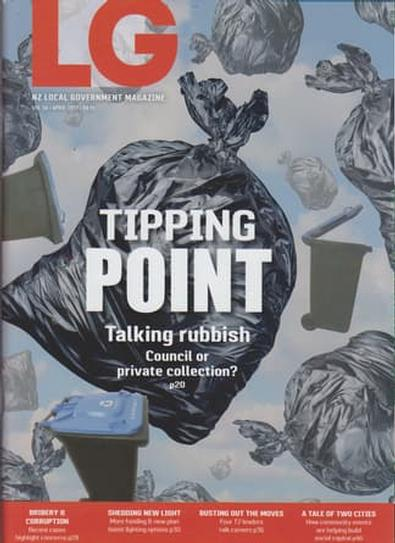 NZ Local Government magazine cover