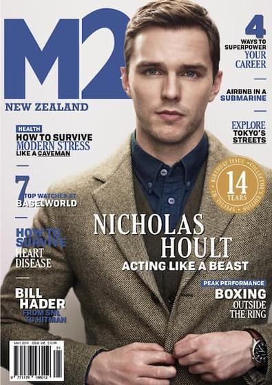 M2 Magazine cover