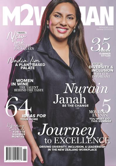 M2WOMAN magazine cover