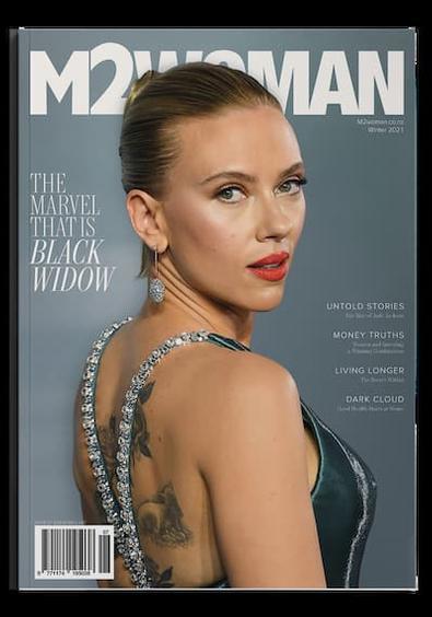 M2WOMAN magazine cover