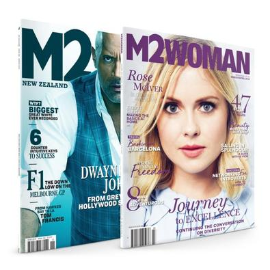 M2WOMAN & M2 Magazine Bundle cover