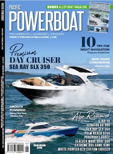 Pacific PowerBoat Magazine cover