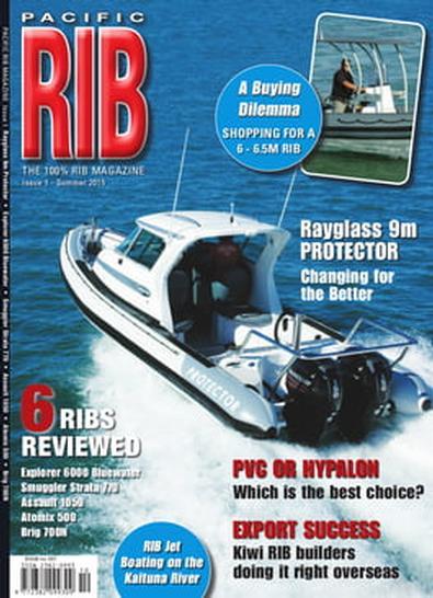Pacific RIB Magazine cover