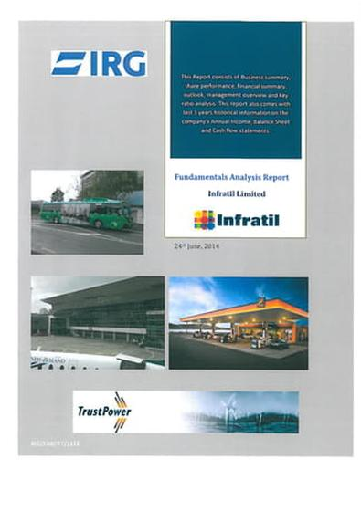 Infratil Limited magazine cover