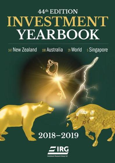 44th Investment Yearbook 2018-2019 cover