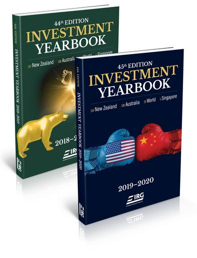 45th & 44th Investment Yearbook Combo cover