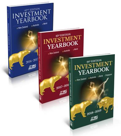 44th, 43rd and 42nd IRG Investment Yearbook cover