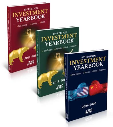 45th, 44th and 43rd IRG Investment Yearbook cover